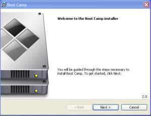 win 7 bootcamp installer setup